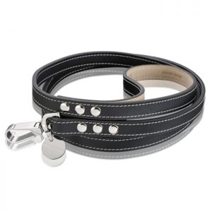 ROYAL SADDLE LEATHER LEAD – BLACK