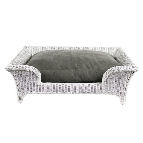 PACO BED - STONEWASHED GREY Swish London