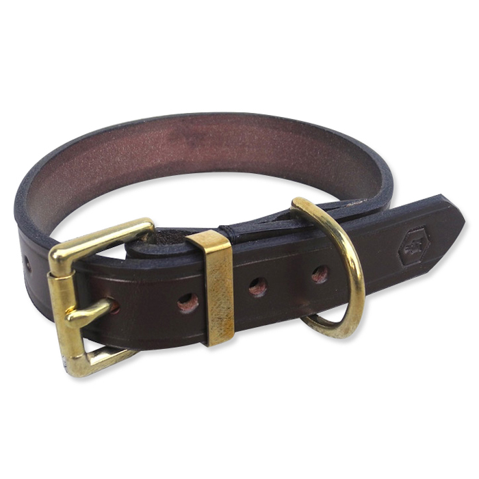 STEADFAST COLLAR – NUT BROWN