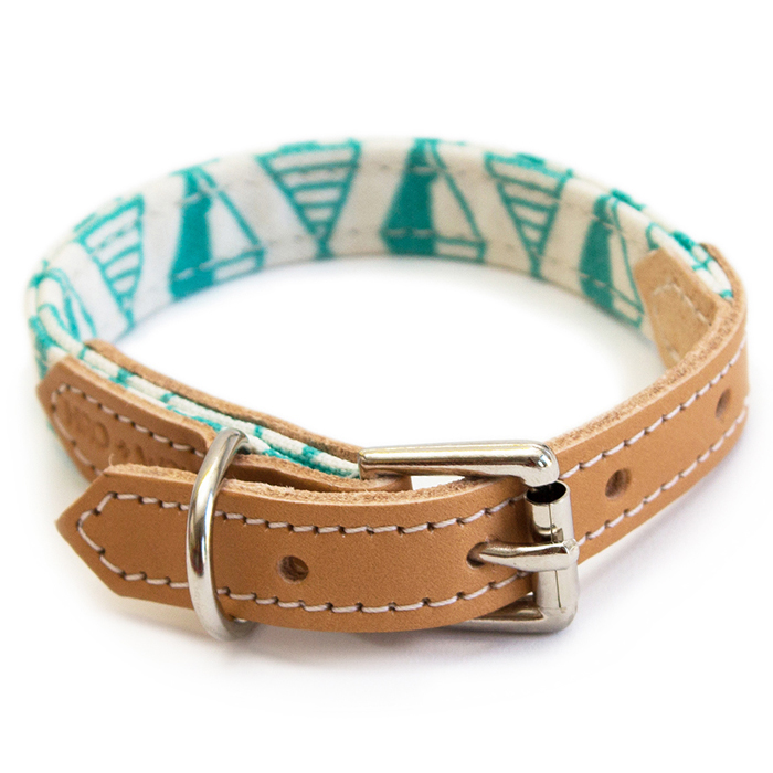 GEO COLLAR - GREEN Swish London