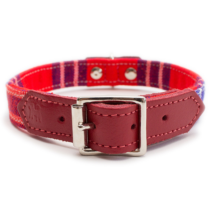 SHUKA COLLAR - RED Swish London