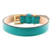 luxury designer Frida Firenze dog collar turquoise