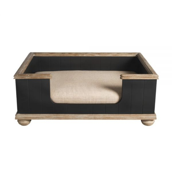BERNARD BED – BLACK