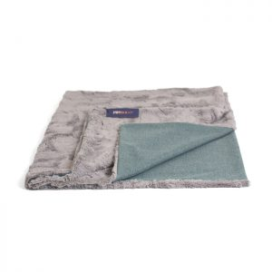 LARGE CLASSIC BLANKET - AQUA Swish London