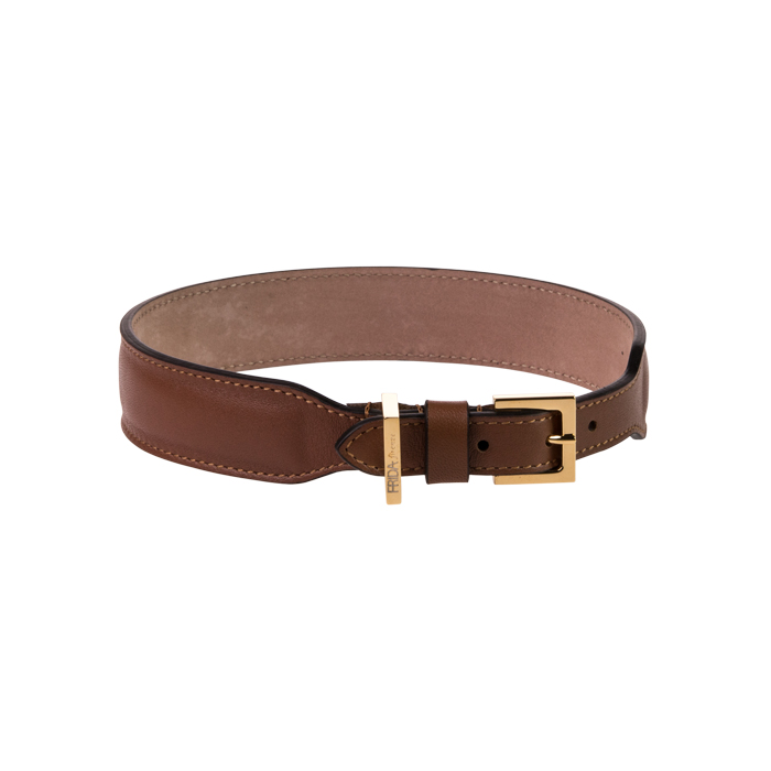 PLAIN COLLAR – BROWN