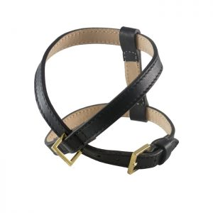PLAIN HARNESS - BLACK Swish London
