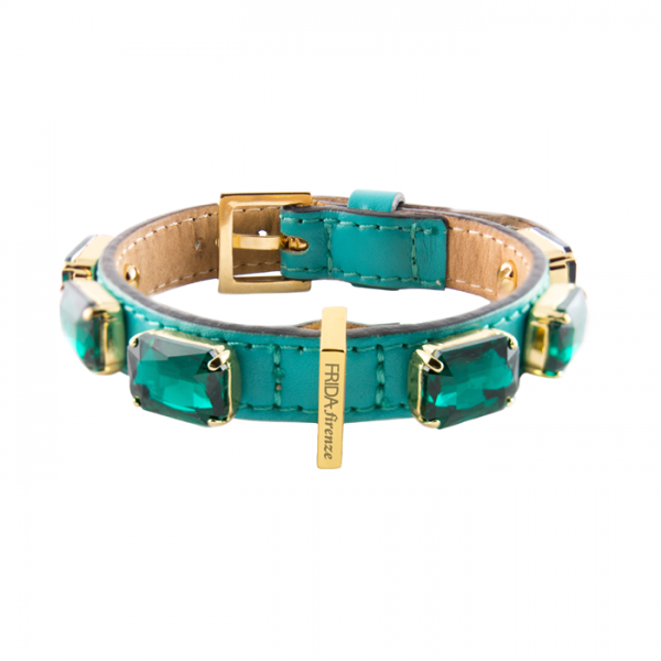 JEWELLED COLLAR – EMERALD GREEN