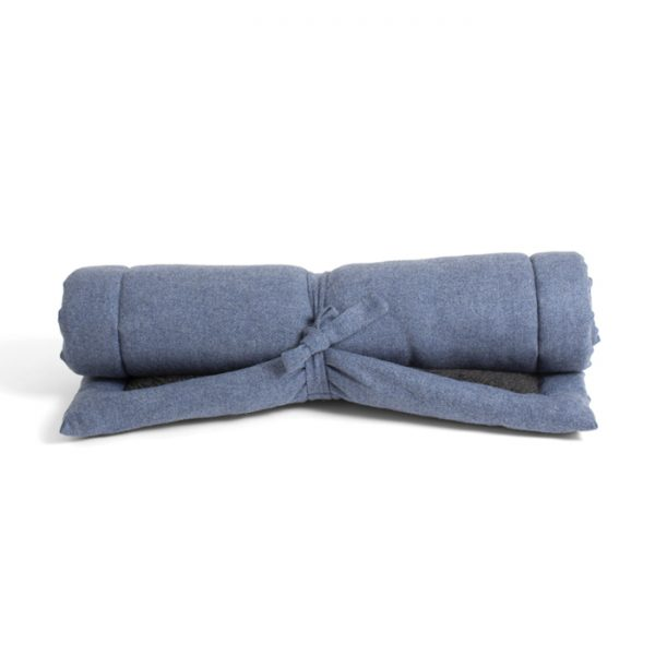 TRAVEL BLANKET - INFINITY BLUE Swish London